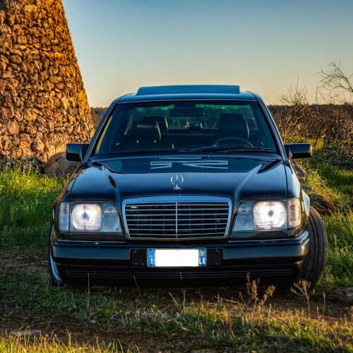 Mercedes auto matrimonio